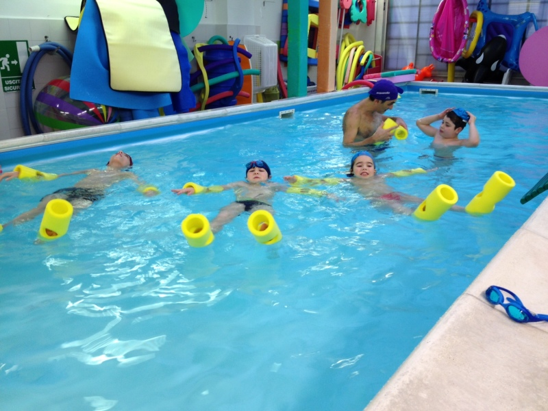 Bimbi Robot in acqua